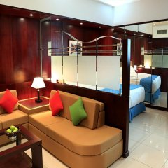 Arcadia Hotel Apartments 3* Студия Делюкс с различными типами кроватей