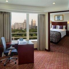 Radisson Blu Hotel Shanghai New World 5* Полулюкс с различными типами кроватей