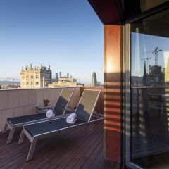 Отель Eurostars Monumental 4* Улучшенный номер с двуспальной кроватью