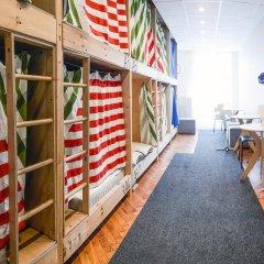 Хостел Архитектор Кровать в общем номере с двухъярусной кроватью фото 33