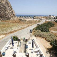 Отель Onar Rooms & Studios Греция, Остров Санторини - отзывы, цены и фото номеров - забронировать отель Onar Rooms & Studios онлайн пляж фото 2