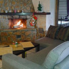 Гостиница Chalet with Fireplace for Family Vacation комната для гостей