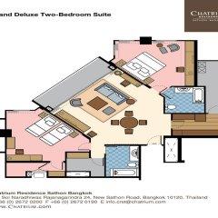 Отель Chatrium Residence Sathon Bangkok 4* Люкс повышенной комфортности фото 21