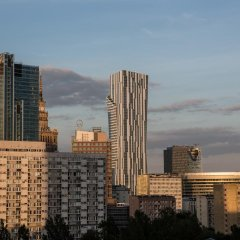 Отель Mint Rooms Польша, Варшава - 1 отзыв об отеле, цены и фото номеров - забронировать отель Mint Rooms онлайн балкон