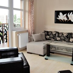 Апартаменты Royal Apartments Вроцлав комната для гостей фото 2