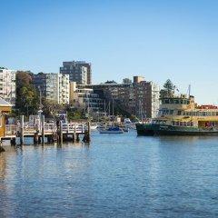 Отель Intercontinental Sydney Double Bay Истерн-Сабербс приотельная территория