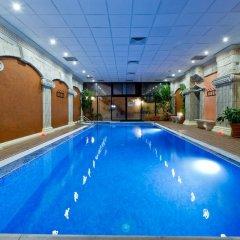 Отель Spa Hotel Sveti Nikola Болгария, Сандански - отзывы, цены и фото номеров - забронировать отель Spa Hotel Sveti Nikola онлайн бассейн фото 2