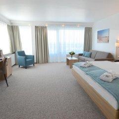 Отель Carat Golf & Sporthotel 4* Номер Комфорт с различными типами кроватей фото 10