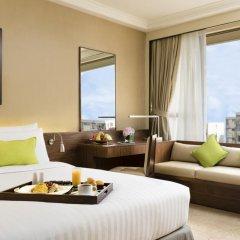 City Garden Hotel 4* Номер Делюкс с двуспальной кроватью фото 2