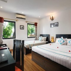 Hanoi Focus Boutique Hotel 3* Семейный номер Делюкс разные типы кроватей фото 14