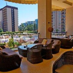 Апартаменты GT Royal Beach Apartments Солнечный берег балкон