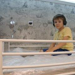 Хостел Обской Кровати в общем номере с двухъярусными кроватями фото 21