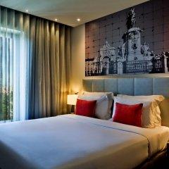 Отель TRYP Lisboa Aeroporto 4* Стандартный номер двуспальная кровать фото 4