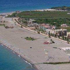 Отель Hostal Puerto Beach пляж