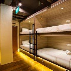 Capsule Pod Boutique Hostel Кровать в общем номере фото 17