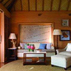 Отель Four Seasons Resort Bora Bora 5* Люкс с различными типами кроватей фото 13