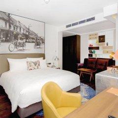 Отель Indigo Bangkok Wireless Road Бангкок комната для гостей