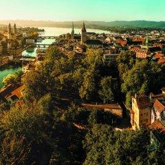 Отель Four Points by Sheraton Sihlcity Zurich Швейцария, Цюрих - отзывы, цены и фото номеров - забронировать отель Four Points by Sheraton Sihlcity Zurich онлайн бассейн фото 2