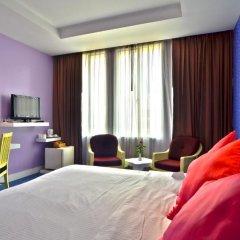 Отель The Tawana Bangkok 3* Номер Делюкс с разными типами кроватей фото 8