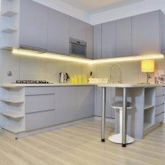 Отель Bajkowy Gdańsk Улучшенные апартаменты с различными типами кроватей фото 35