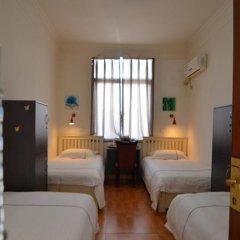 Chengdu Traffic Youth Hostel Кровать в общем номере с двухъярусной кроватью фото 5