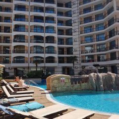 Отель Sunny Beach Rent Apartments Karolina Болгария, Солнечный берег - отзывы, цены и фото номеров - забронировать отель Sunny Beach Rent Apartments Karolina онлайн бассейн фото 2