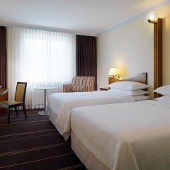 Гостиница Шератон Палас Москва 5* Стандартный номер с различными типами кроватей фото 12