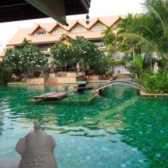Отель Villa Thongbura 3* Студия с различными типами кроватей фото 3
