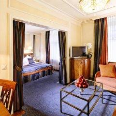 Отель Schweizerhof Zürich 4* Полулюкс с различными типами кроватей