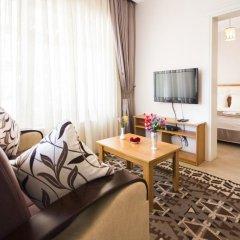Апартаменты Feyza Apartments Студия Делюкс с различными типами кроватей фото 15