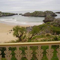Отель Hostal Pineda пляж