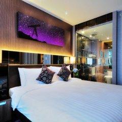 Отель The Continent Bangkok by Compass Hospitality 4* Улучшенный номер с различными типами кроватей фото 9