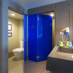 Отель ibis Styles Bangkok Khaosan Viengtai 3* Стандартный семейный номер с двуспальной кроватью фото 5