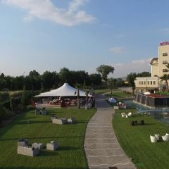 Hotel Ristorante Europa Солофра приотельная территория