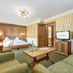 Отель Das Central – Alpine . Luxury . Life 5* Улучшенный номер с различными типами кроватей