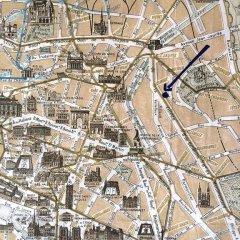 Апартаменты Studio Paris Buttes Chaumont Париж фото 8