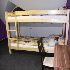John Galt Hostel Brno Кровать в общем номере фото 9