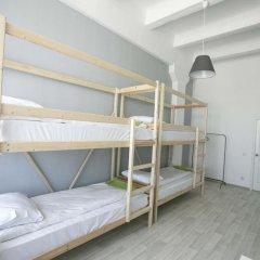 Хостел Bla Bla Hostel Rostov Кровать в мужском общем номере с двухъярусной кроватью фото 11
