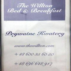Отель The Willton Bed & Breakfast Вроцлав интерьер отеля фото 3