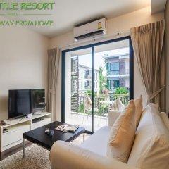 Отель The Title Phuket 4* Номер Делюкс с различными типами кроватей фото 11
