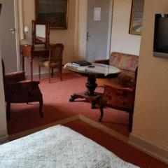 Hotel Postgaarden 3* Стандартный семейный номер с разными типами кроватей фото 5