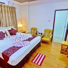 Myat Nan Yone Hotel 3* Номер Делюкс с различными типами кроватей фото 4