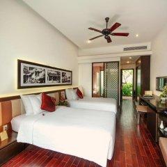 Отель Hoi An Beach Resort 4* Номер Делюкс с различными типами кроватей фото 10