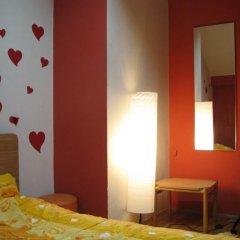 Star Hostel Belgrade Стандартный номер с двуспальной кроватью (общая ванная комната) фото 6