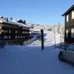Отель Kvitfjell Alpinhytter парковка