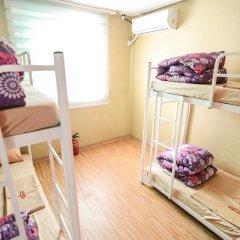 YaKorea Hostel Dongdaemun Кровать в общем номере с двухъярусной кроватью фото 2