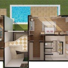 Отель Nirvana Lagoon Villas Suites & Spa 5* Вилла с различными типами кроватей фото 30