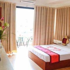 Hanoi Little Center Hotel 3* Стандартный номер двуспальная кровать фото 5
