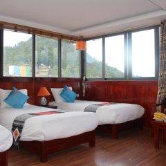 Fansipan View Hotel 3* Люкс с различными типами кроватей фото 16