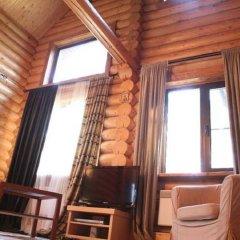 Гостиница Загородный комплекс отдыха Волжанка Коттедж Делюкс разные типы кроватей фото 8